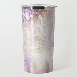 Caught the Light ... in Wisteria  //  The Botanical Series Travel Mug