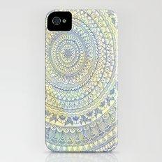 Mandala Doodle Slim Case iPhone (4, 4s)