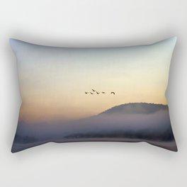 A Sunrise as Good as Gold Rectangular Pillow