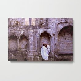 Muckross Abbey Metal Print