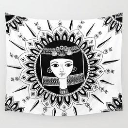1000bc Egyptian inspired mandala Wall Tapestry