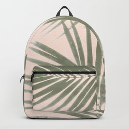 Delicate Jungle on Blush Backpack