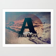 AVALANCHA Art Print