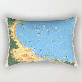 Travel Posters - Algarve Rectangular Pillow
