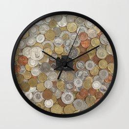 Coins & Tiny Tiny Camera Wall Clock