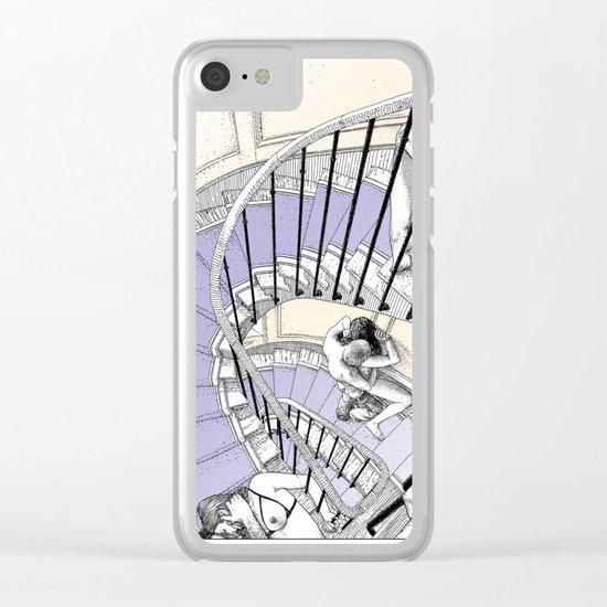 asc 692 - Book cover La Musardine Clear iPhone Case