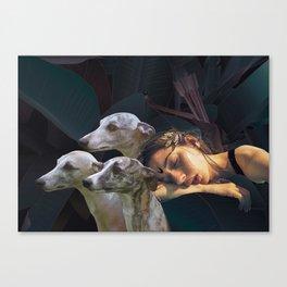 Sleeping Diana (LE, 8 of 10 prints left) Canvas Print