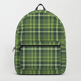 Christmas Plaid 10 Backpack