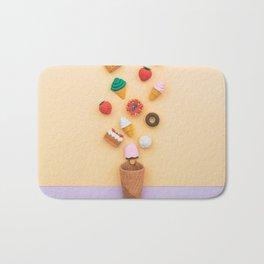 dessert sweets Bath Mat