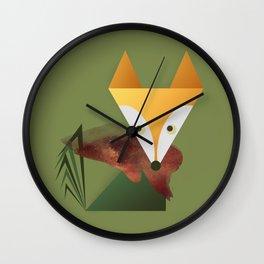 Animaligon - Fox Wall Clock