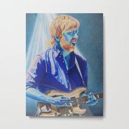 Trey Anastasio in Blue Metal Print