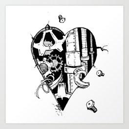The Broken Hearted Art Print