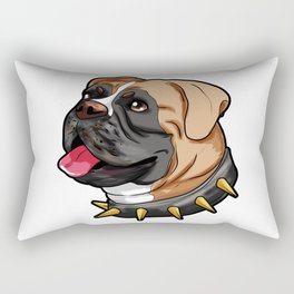 German Boxer Dog Doggie Puppy Rectangular Pillow