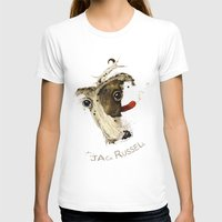 jack russell T-shirts featuring Jack Russell by ari-s