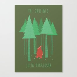 The Gruffalo fan poster Canvas Print