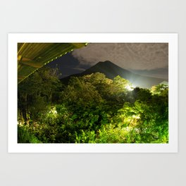 Arenal - Costa Rica ( Limited run of 10 Prints) Art Print