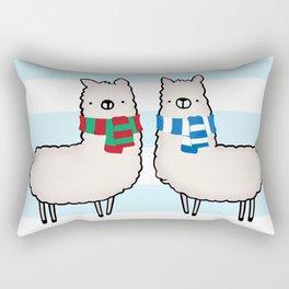 Happy Llama-Days Rectangular Pillow
