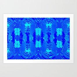 Wetlight pattern Art Print