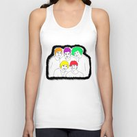 1d Tank Tops featuring 1D punked by Rebecca Bear