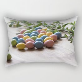Easter Eggs 15 Rectangular Pillow