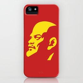 Vladimir Ilitch Oulianov Lenin Portrait iPhone Case