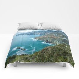 Sea Cliffs of Slieve League Comforters