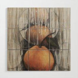 Tangerines Wood Wall Art