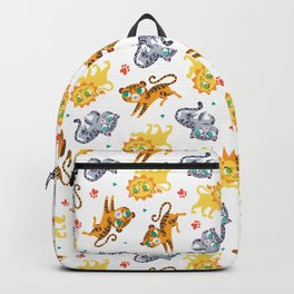 Baby Big Cats Pattern Backpack
