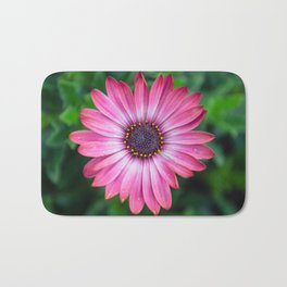 Flower Portrait - Pink Sunshine Bath Mat
