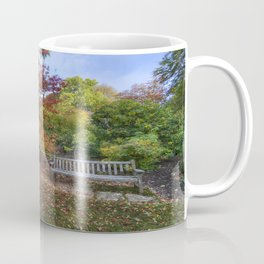 Autumn Bench Coffee Mug