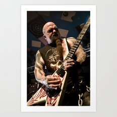 Kerry King of Slayer Art Print