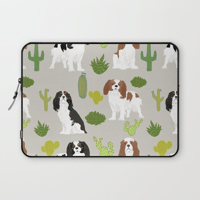 Cavalier King Charles Spaniel must have gift accessories for dog breed owner king charles dog Laptop Sleeve