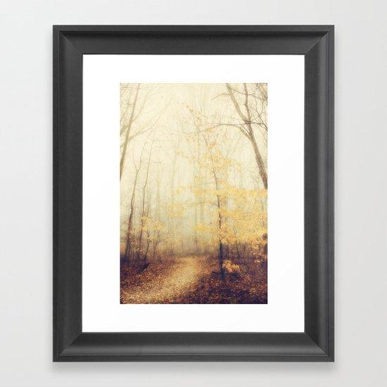 January hush Framed Art Print