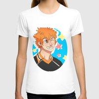 haikyuu T-shirts featuring Hinata Haikyuu!! by Dreki