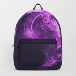 Heterosexual symbol. Heterosexual sign. Abstract night sky background Backpack