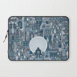 space city mono blue Laptop Sleeve