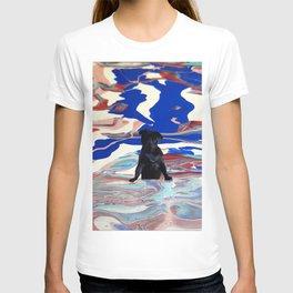 Melt pug T-shirt