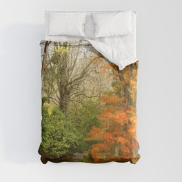 Willow in Autumn colors Comforters