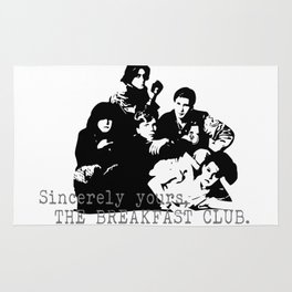 The Breakfast Club Rug
