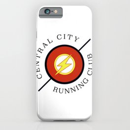 Central City running club iPhone Case