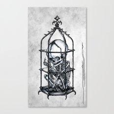 Fetus Cage Canvas Print