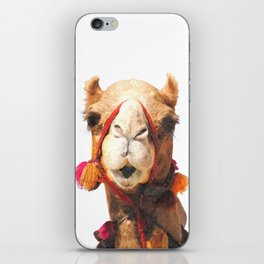 Camel Portrait iPhone Skin