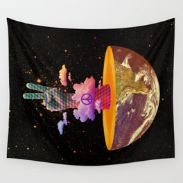 Peace Planet Wall Tapestry