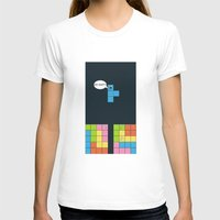 tetris T-shirts featuring Tetris by sEndro