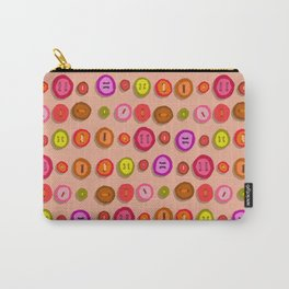 funny buttons Carry-All Pouch