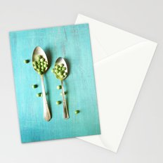 Give Peas a Chance Stationery Cards