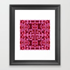 Spring exploit floral pattern second version Framed Art Print