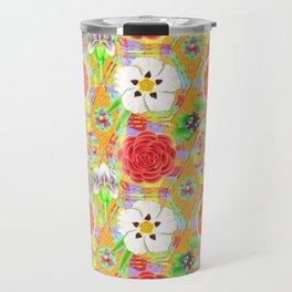 4160 Tuesdays Rainbow Botanicals Travel Mug