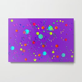 Astract colorful bubbles 142 Metal Print