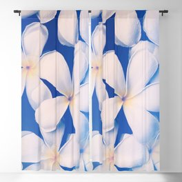 Hawaiian Flowers Blackout Curtain